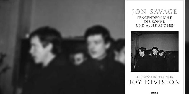 """Buchcover """"Die Geschichte von Joy Division"""""""