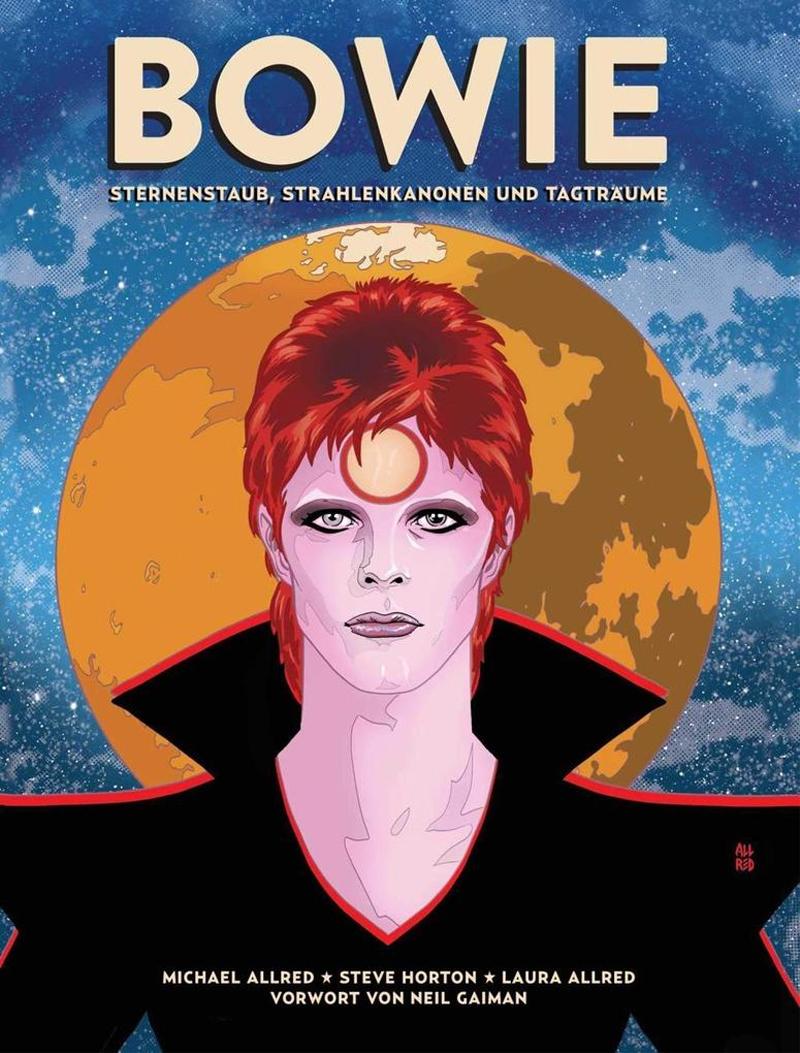 Cover der Graphic Novel: David Bowie / Ziggy Stardust