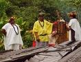Kulturrevival im wilden Inneren der Insel,Tahiti.
