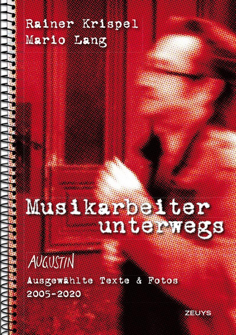 """Buchcover von  Krispel, Rainer und  Lang, Mario  """"Musikarbeiter unterwegs"""""""