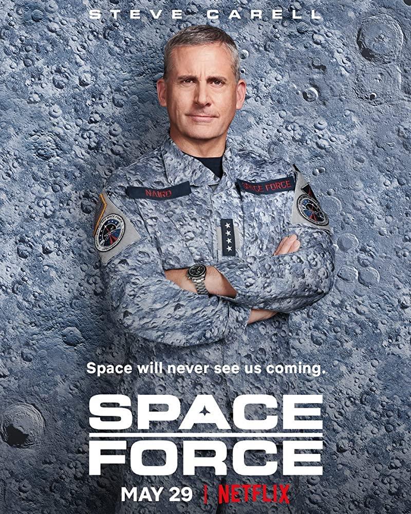 Plakat von Space Force