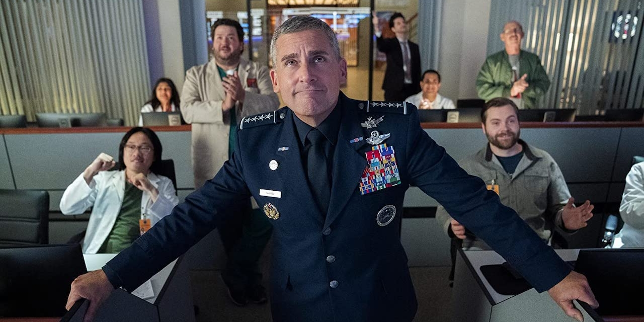 Steve Carell als General Mark Naird in Space Force
