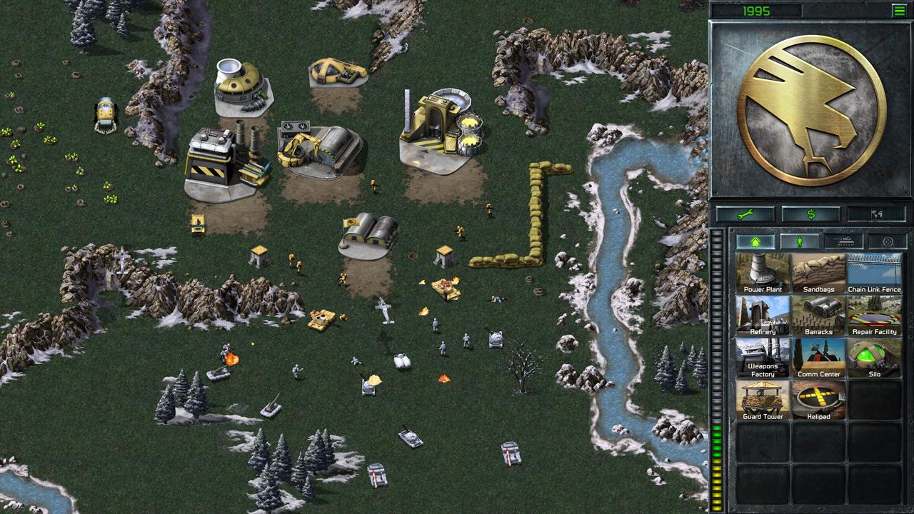 """Bildschirmfoto aus """"Command & Conquer Remastered Collection"""""""