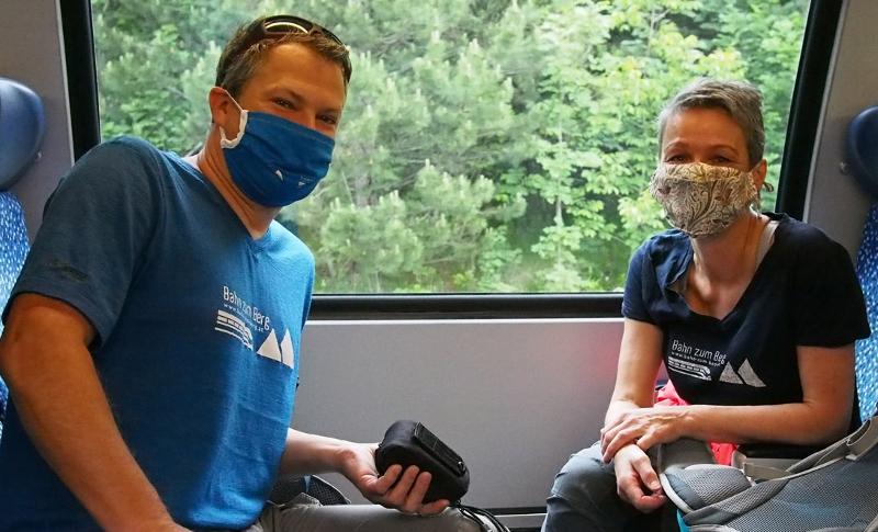 Fotos von einer Bergtour auf die Rax mit öffentlichen Verkehrsmitteln