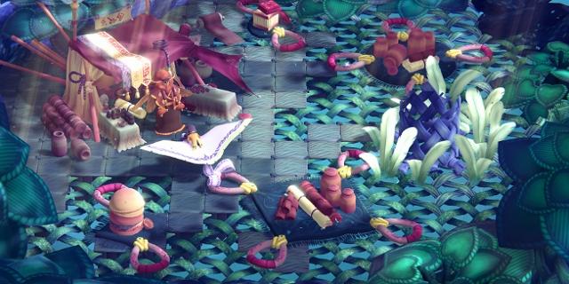 Screenshot des Games Weaving Tides