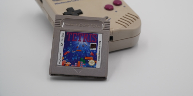 "Game Boy mit ""Tetris"""