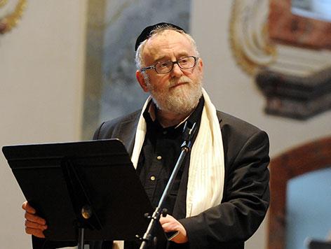 Paul Chaim Eisenberg 2012 bei einem Konzert mit der interreligiösen Band Shalom - Music between Friends