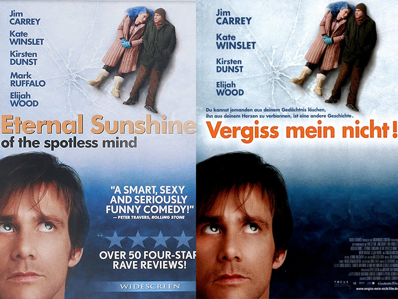Filmposter mit Jim Carrey