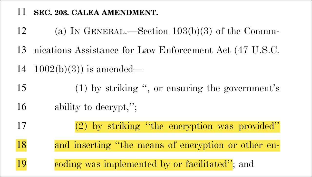 Calea Amendment