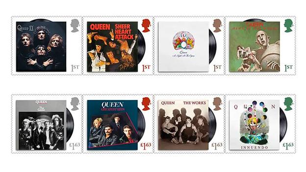 Briefmarken Band Queen