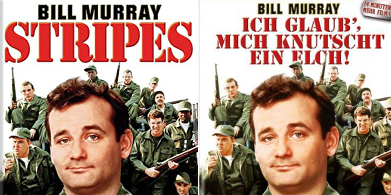 Filmposter Stripes mit Bill Murray