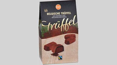 """Produktfoto """"Belgische Trüffel"""" von EZA"""