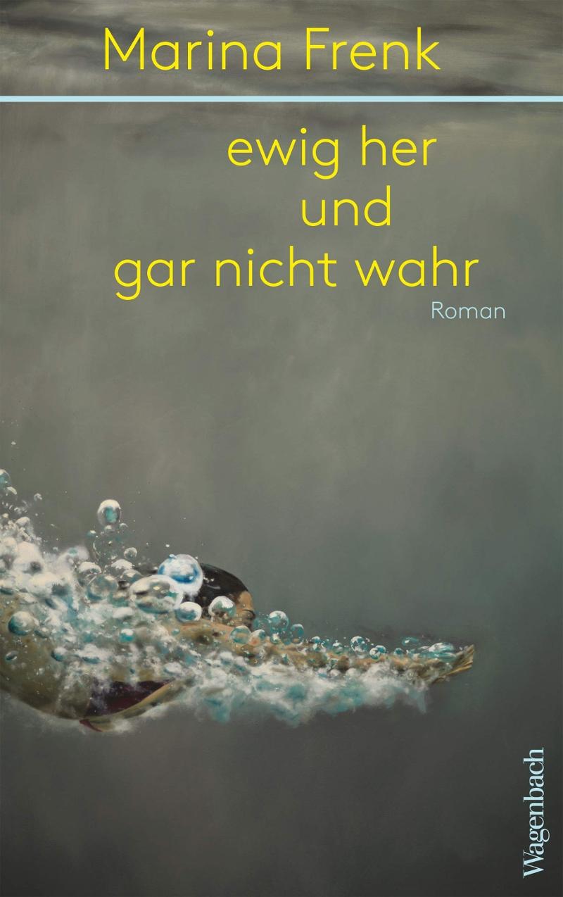 """Buchcover von Marina Frenks """"ewig her und gar nicht wahr"""""""