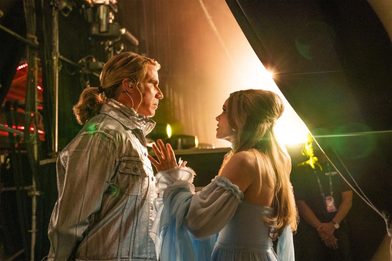 """Filmstills aus den Serien  """"Wasp Network"""", """"Eurovision Song Contest: The Story of Fire Saga"""" und """"Dark"""""""