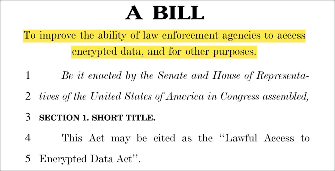 A bill to improve the ability of law enforcement agencies to access encrypted data, and for other purposes