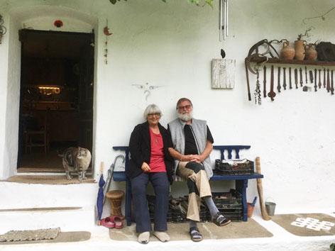 Marina und Jahn Buddh im Burgenland