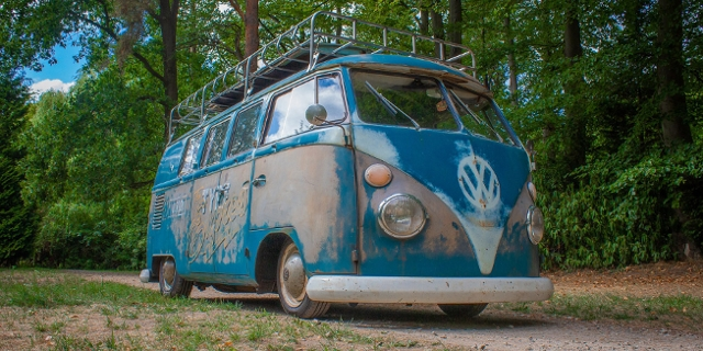 Sehr alter VW Bus