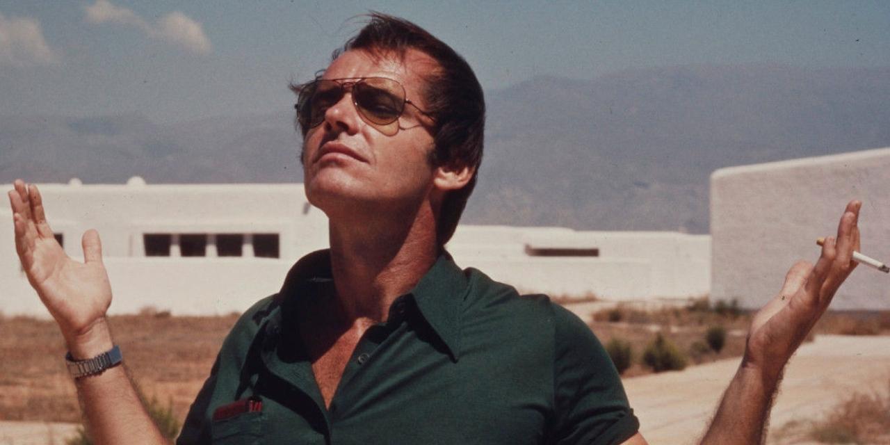 "Jack Nicholson in ""The Passenger"""