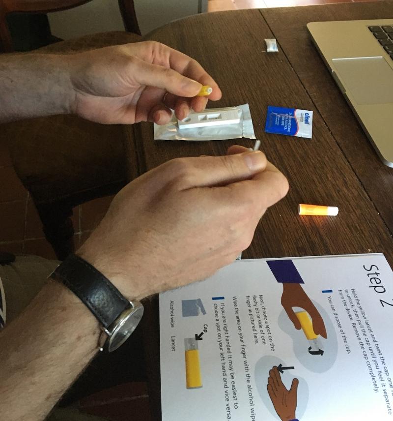 Corona Antikörper Selbsttest