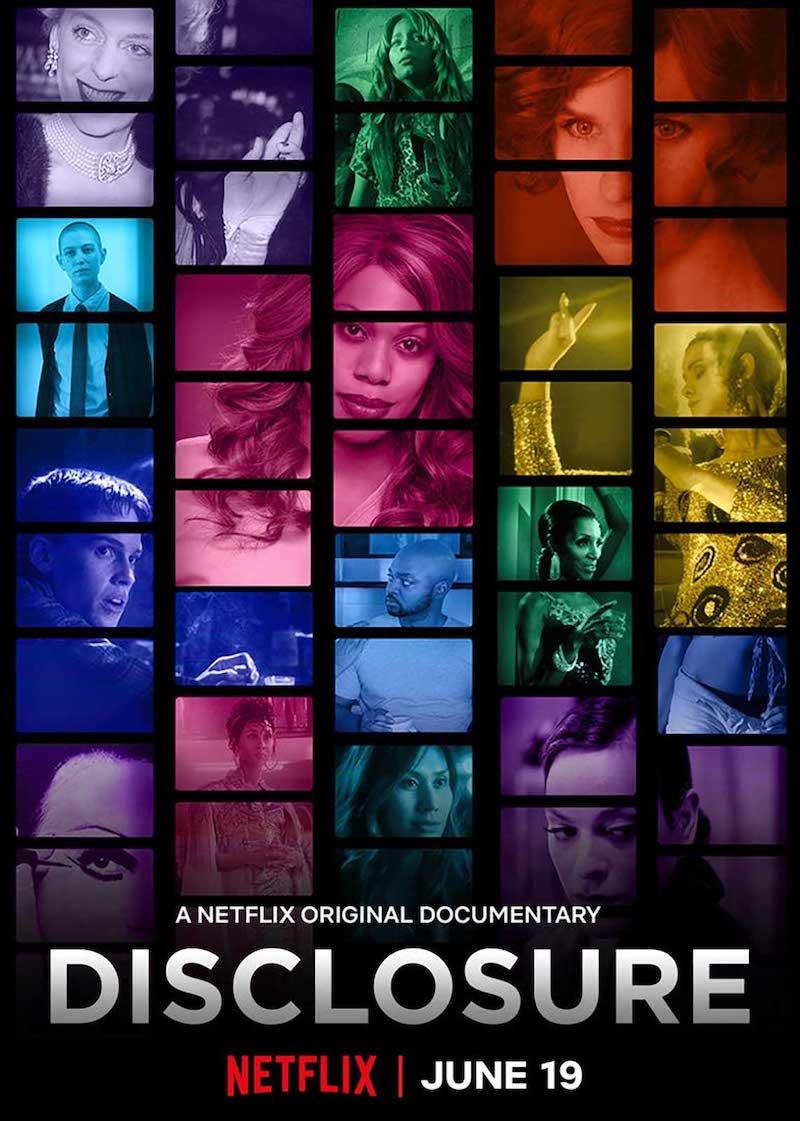 "Plakat der Dokumentation ""Disclosure"""