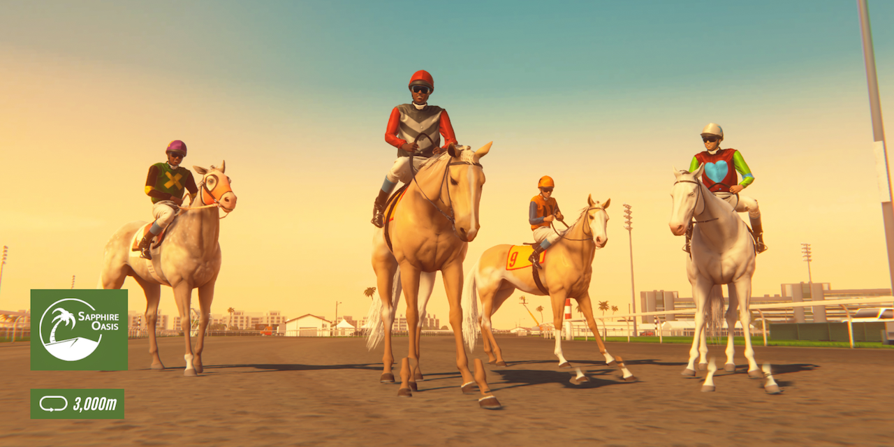 """Game """"Rival Stars Horse Racing"""""""