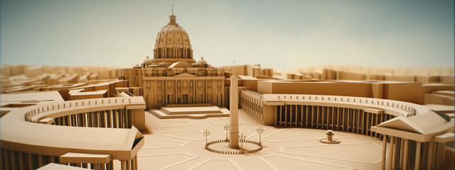 Der Bau des Petersdoms in Rom dauerte 120 Jahre