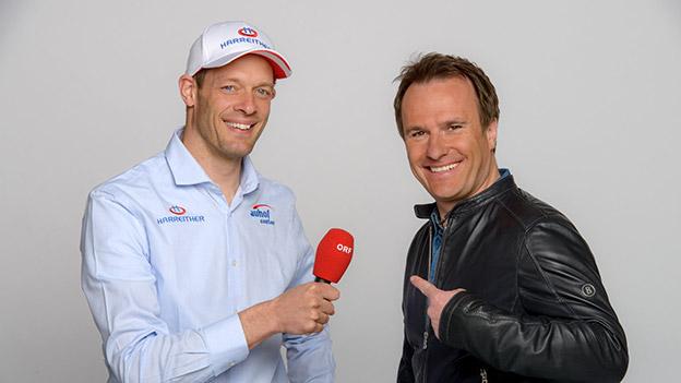 Alexander Wurz und Ernst Hausleitner