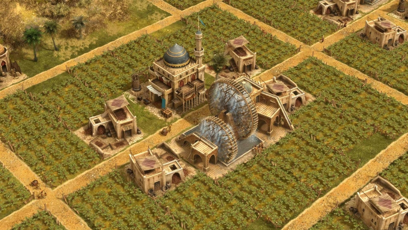 Screenshot aus Anno 1404