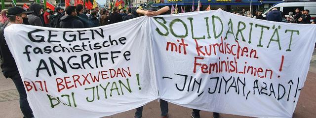 Demonstration Wien Favoriten