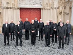 Österreichs Bischöfe bei der Vollversammlung der Bischofskonferenz in Mariazell 2020