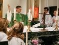 Pfarrer beim Gottesdienst