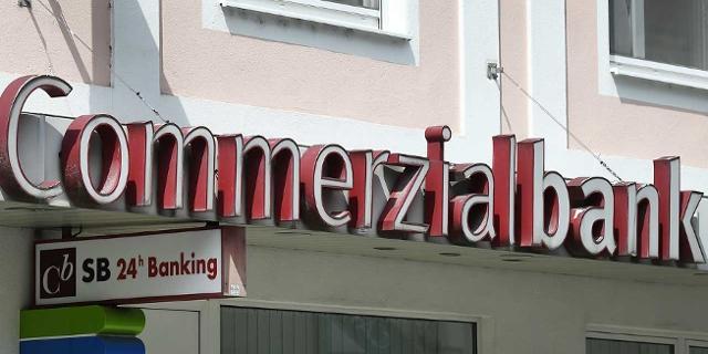 Schild Mattersburger Commerzialbank
