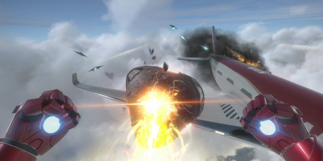 Screenshots des Spiels Marvel's Iron Man VR