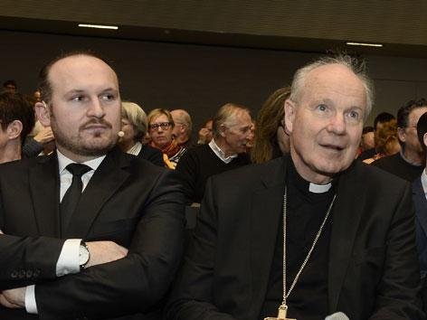 Kardinal Christoph Schönborn und IGGÖ-Präsident Ümit Vural