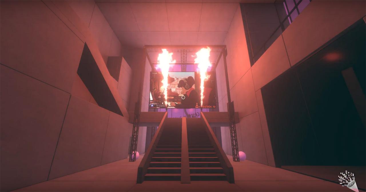 Der virtuelle Raum AMAZE Space.
