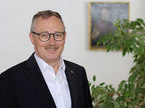 Jesuiten-Provinzial Bernhard Bürgler