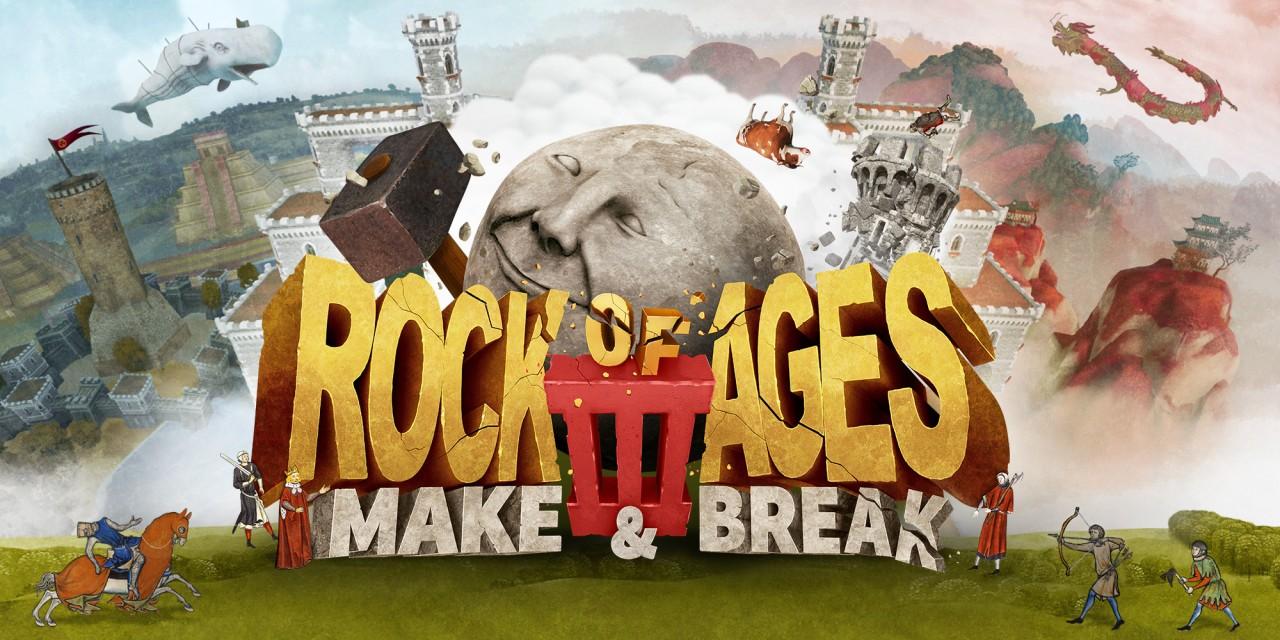 """Bildschirmfoto aus dem Computerspiel """"Rock of Ages 3"""""""
