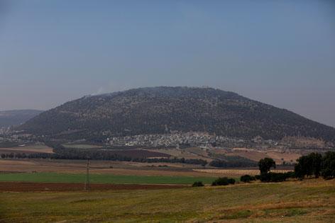 Berg Tabor in Israel