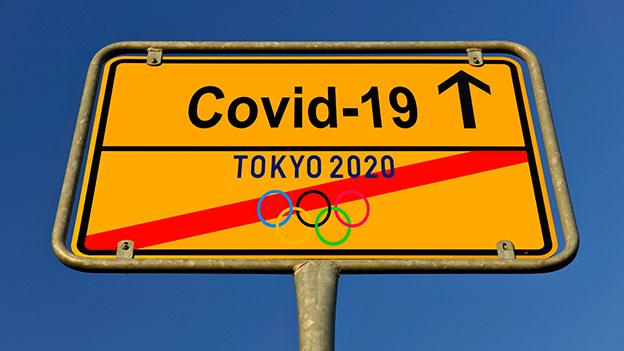 Symbolbild Absage der Olympischen Sommerspiele in Tokio aufgrund von Corona