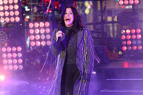 Alanis Morissette auf der Bühne