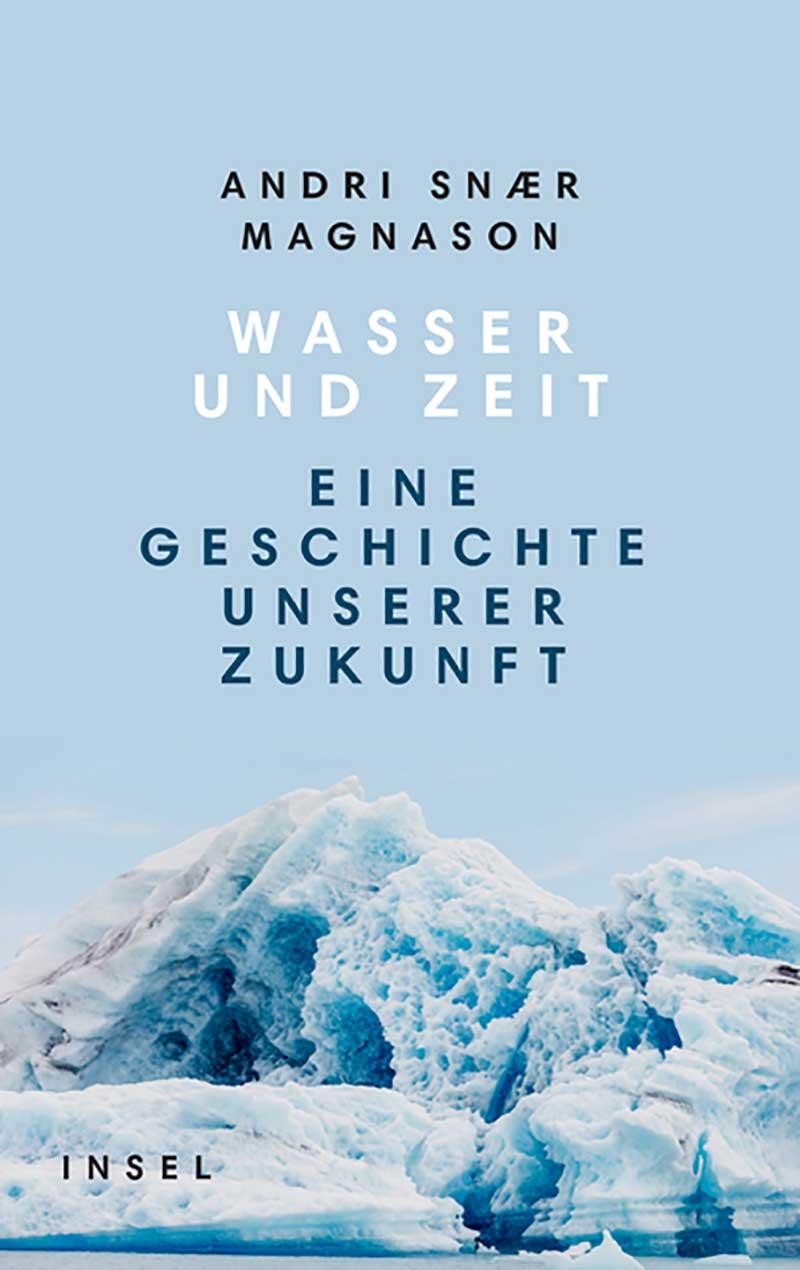 """Buchcover """"Wasser und Zeit"""""""