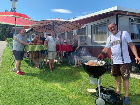 Das ganz normale Verhalten der Österreicher  ...beim Camping