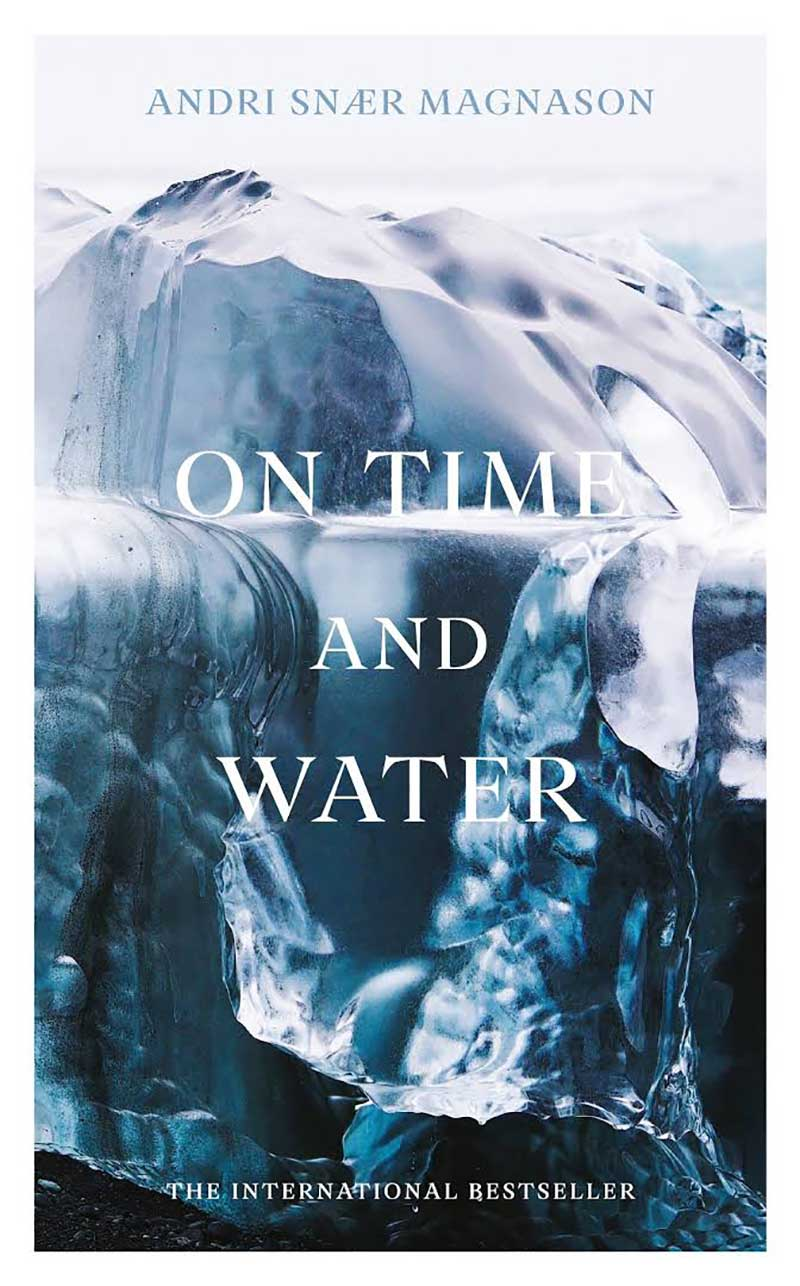 """Book cover """"On Time and Water"""""""