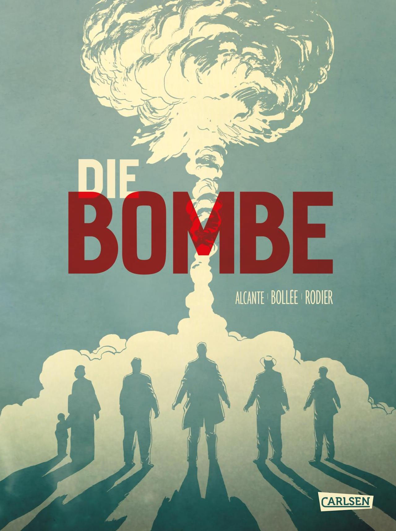 Graphic Novel Die Bombe Leseproben
