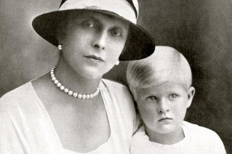 Die Schwiegermutter der Queen