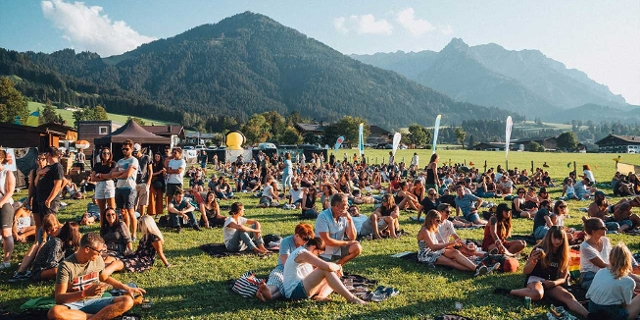 FM4 Picknick am Walchsee in Tirol