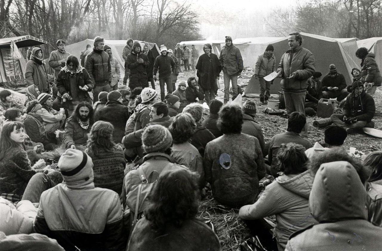 Besetzung der Hainburger Au 1984