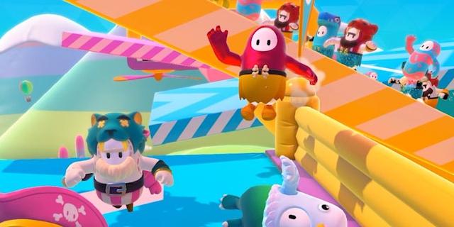 """Bildschirmfoto aus dem Computerspiel """"Fall Guys"""""""