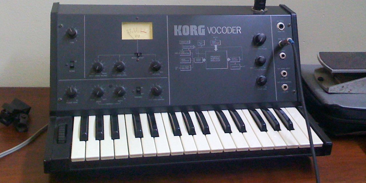 Korg VC-10 Vocoder