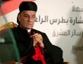 Der maronitische Patriarch Kardinal Bechara Boutros al-Rai